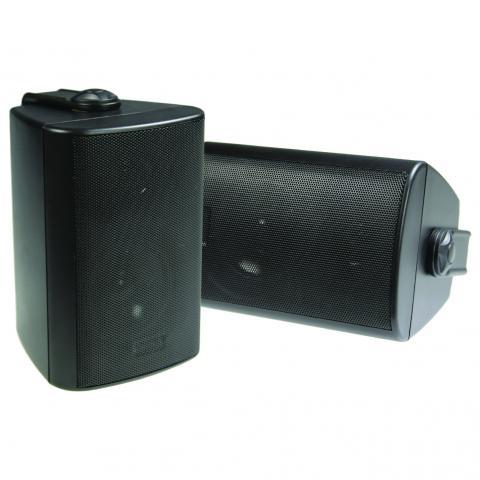 """3"""" 2-Way Speakers Black   Studio Acoustics"""